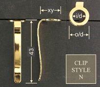 Clip style N